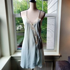 Vintage 1980's Unmentionables Mint Green | OS